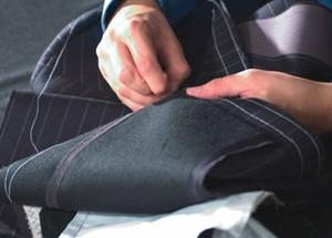 hand stitched tailoring